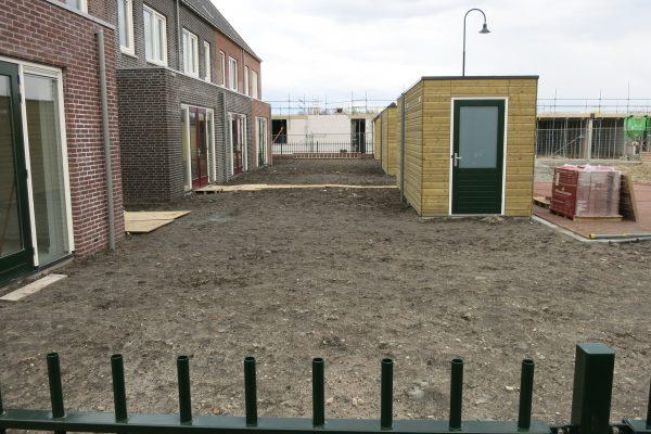 Plaatsen van schuttingen voor alle buren