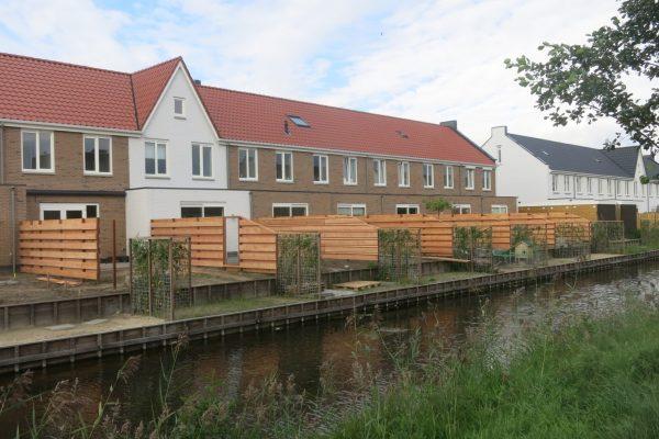 Schutting met Douglash houten delen Amersfoort