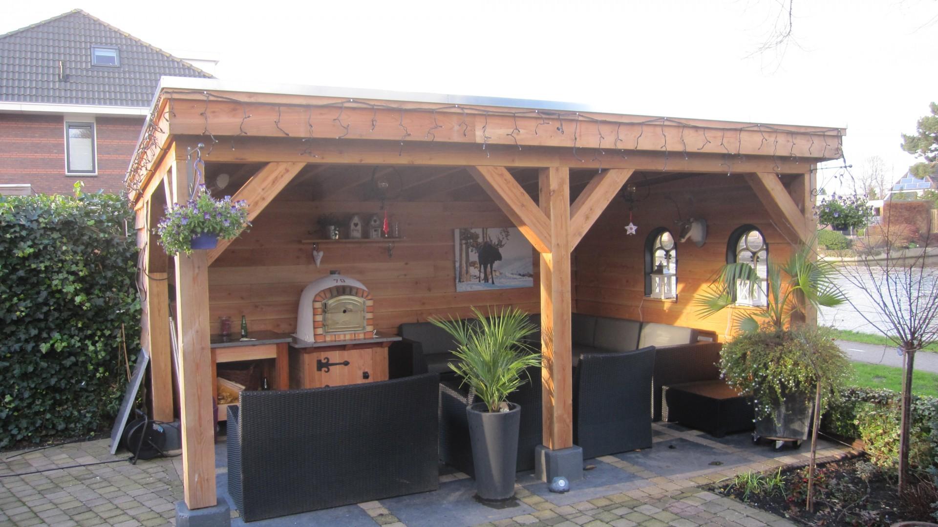 Super Douglas houten buitenverblijf plaatsen - Timmerman Bodegraven MC-43
