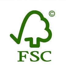 wij werken met FSC hout