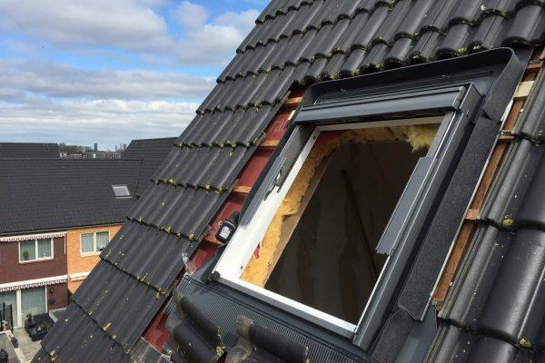 velux dak raam plaatsen