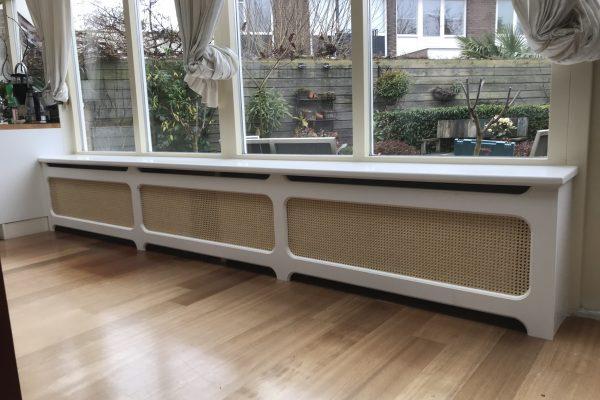 klassieke radiator ombouw geplaatst in vlaardingen