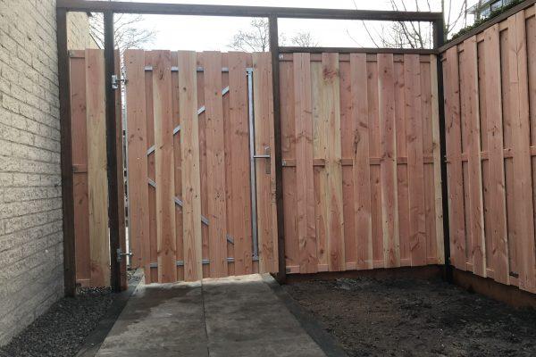 verbrede poortdeur 110 cm