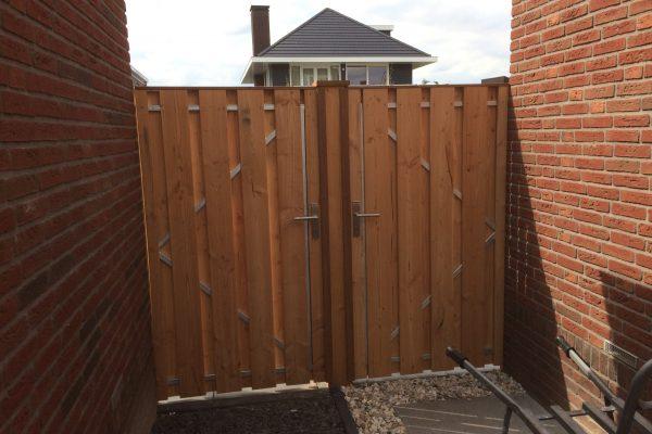 Douglas houten poortdeuren