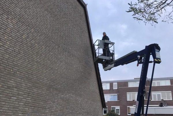 plaatsen van trespa boeidelen Rotterdam