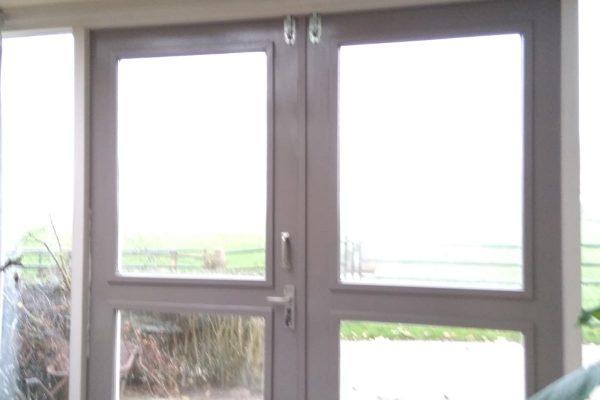 oude situatie met de dubbelen deuren