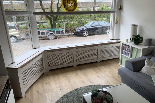 Radiator ombouw geplaatst in Rotterdam overschie