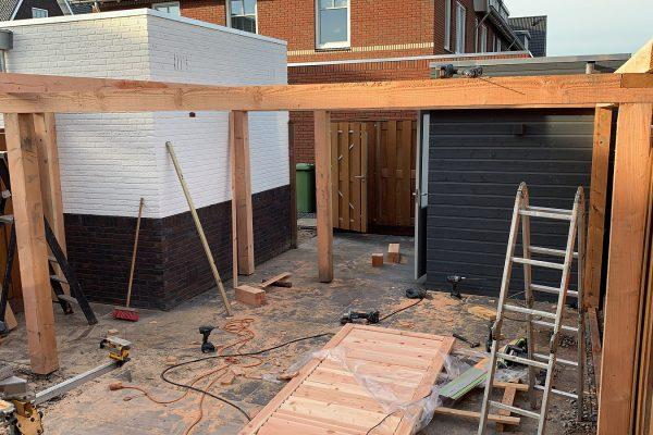 overkapping geplaatst met shutters Bodegraven (1)