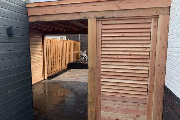 overkapping geplaatst met shutters Bodegraven (2)