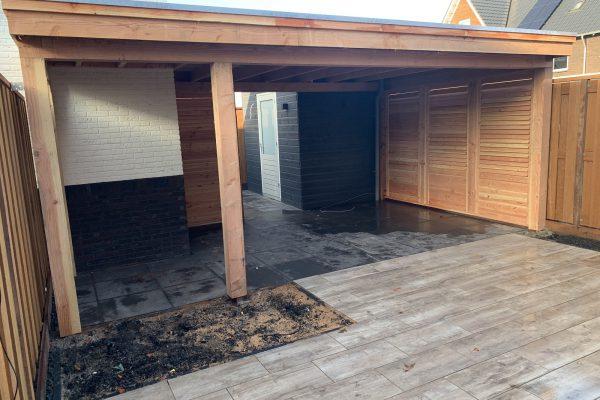 overkapping geplaatst met shutters Bodegraven (3)