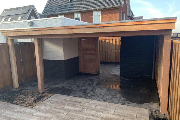 overkapping geplaatst met shutters Bodegraven (4)