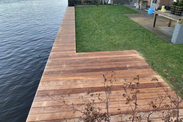 vlonder geplaatst van cumaru hout Alphen aan de Rijn (3)