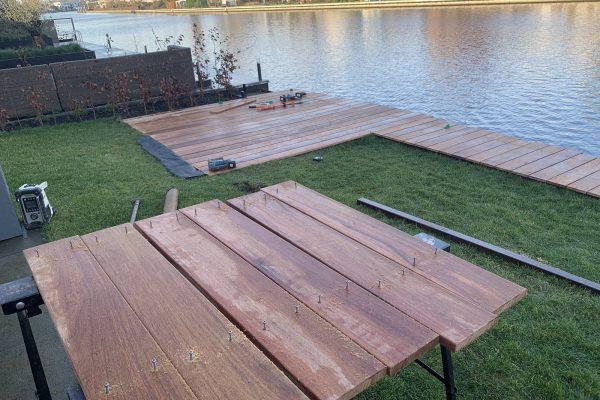 vlonder geplaatst van cumaru hout Alphen aan de Rijn (5)