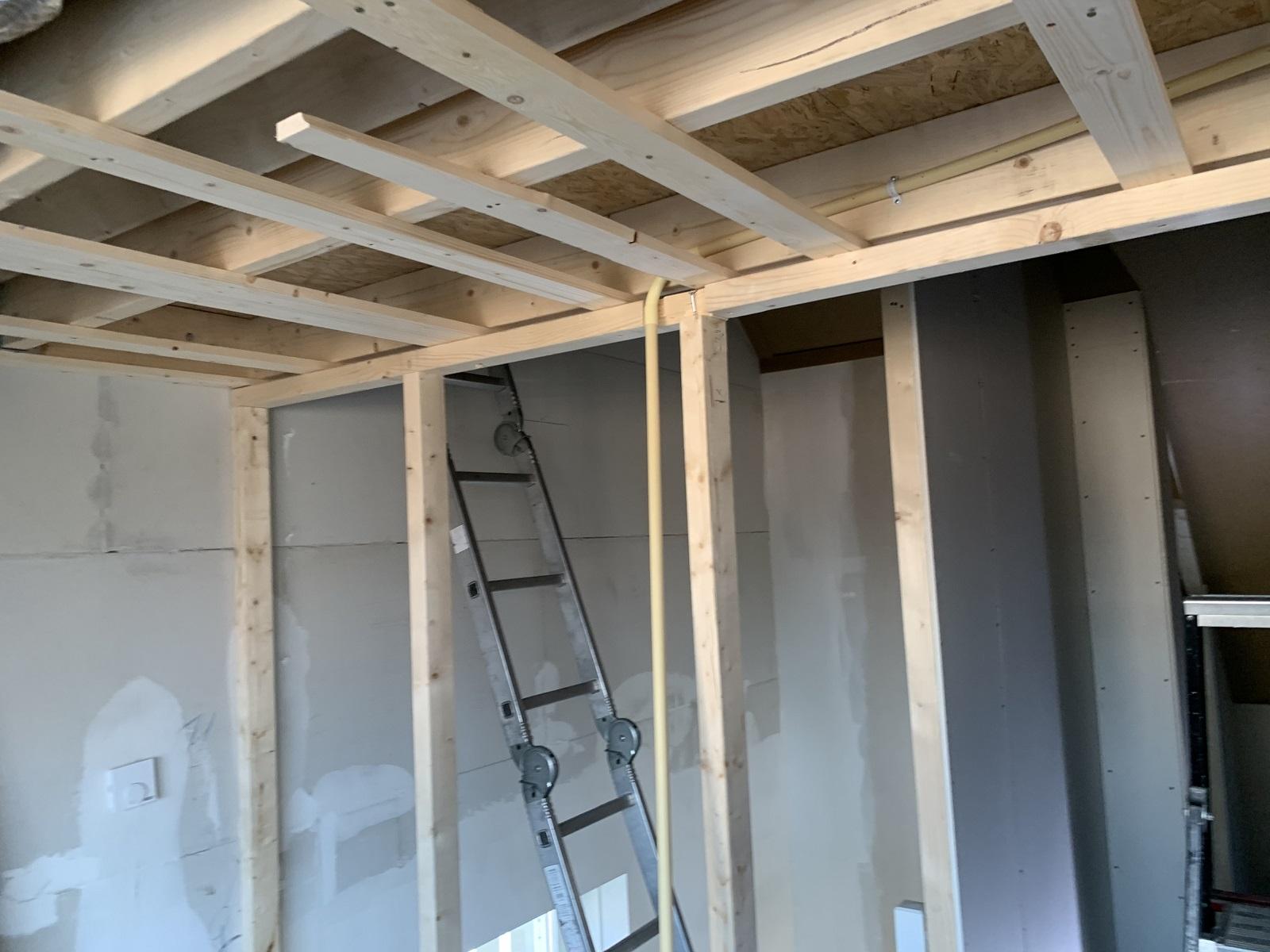 aftimmeren dakkapel en vide geplaatst