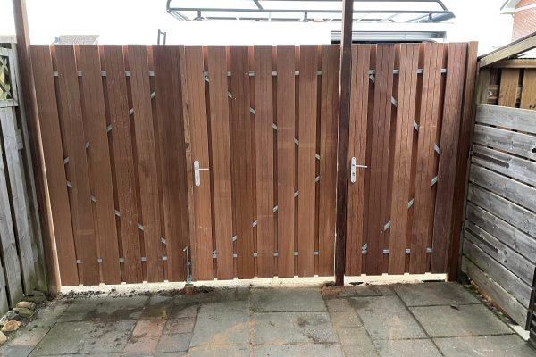 hard houten carportdeuren geplaatst schoonhoven (4)